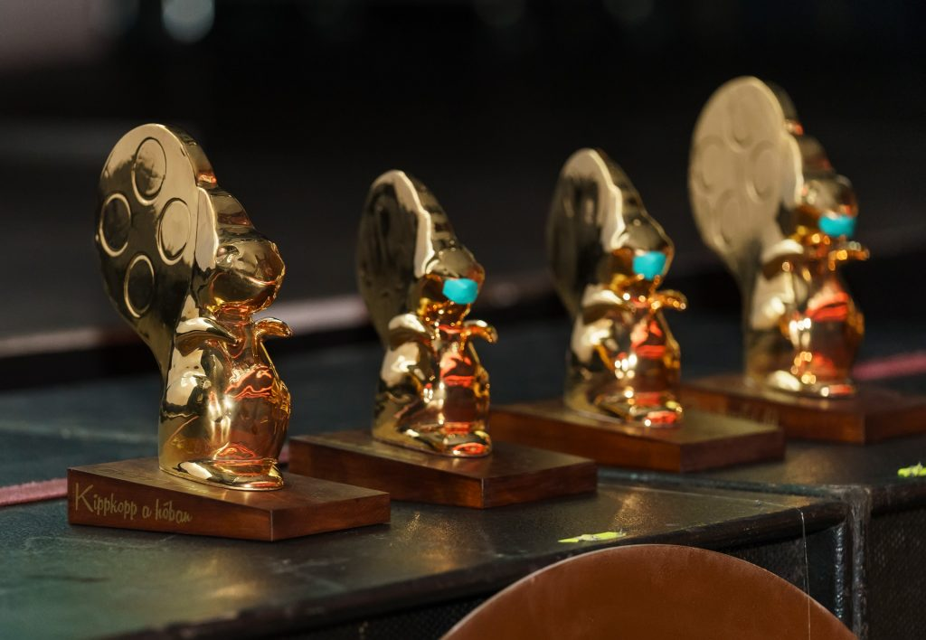 A 2020-as Aranymókus-díjak. Fotó: Posztós János